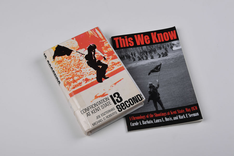 "With the 50th May 4 Commemoration approaching, this year's Common Reading Experience for all first-year Kent State University students created an opportunity to incorporate the books ""This We Know"" and ""Thirteen Seconds: Confrontation at Kent State."""