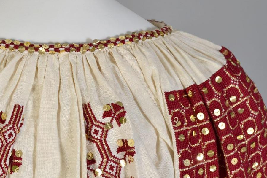 Detail of Romanian ensemble from Transylvania