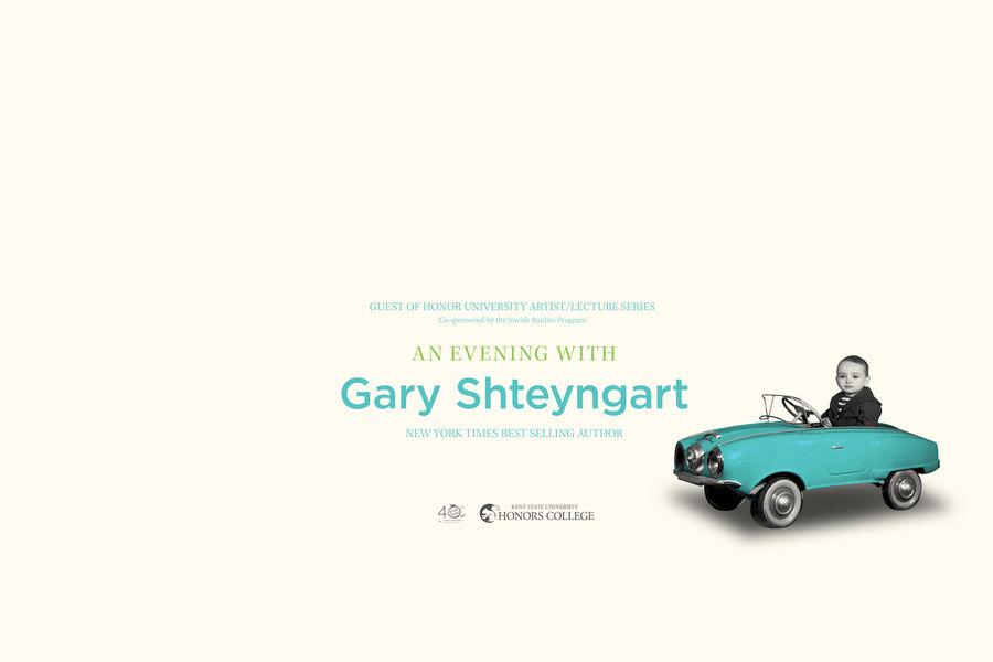 An Evening with Gary Shteyngart
