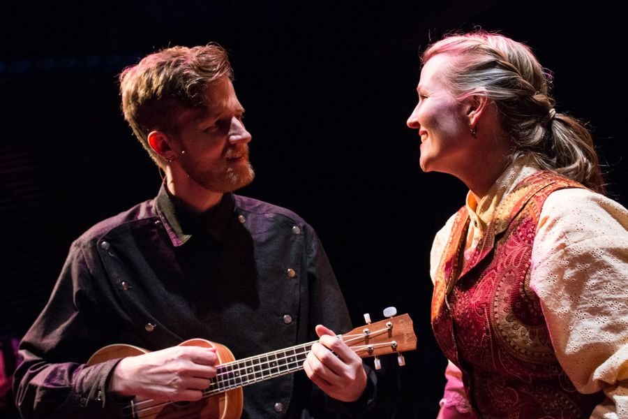 """Porthouse Theatre continues its 48th season with """"Ring of Fire: The Music of Johnny Cash."""" The production is presented in collaboration between CATCO and Porthouse Theatre. (Photo credit: Jerri Shafer)"""