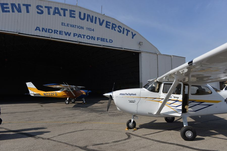 Airplane rides, airplane displays and much more are offered during Kent State University's Aeronautics and Engineering EXPO on Sept. 7 at the Kent State University Airport in Stow.