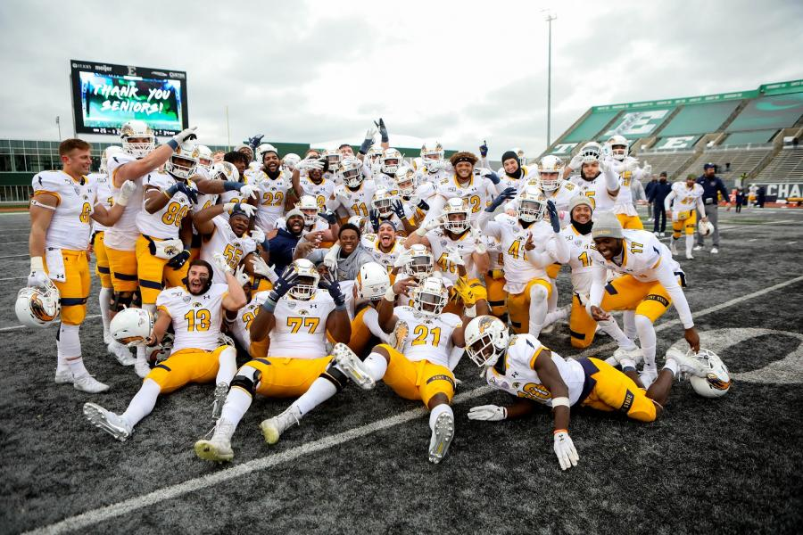 The Kent State Golden Flashes football team is bowling for the fourth time in school history, having accepted a bid to the Tropical Smoothie Café Frisco Bowl against Utah State. The game will take place Dec. 20.