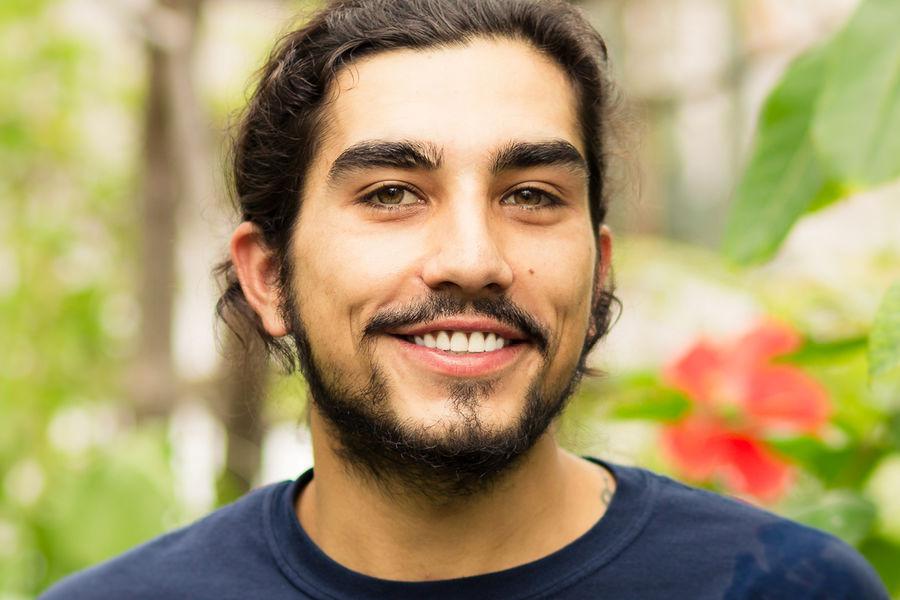 Brandon Davis, senior botany student