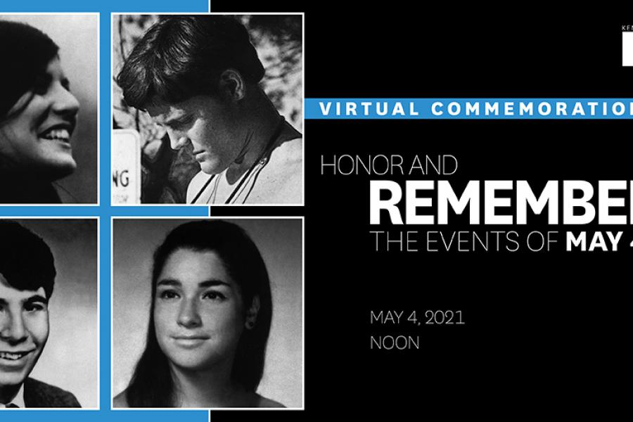 The 51st Commemoration of May 4, 1970, takes place May 4, 2021.