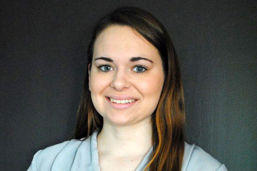 Angela Anikienko, a Kent State junior nursing student, completed the United States Institute for Kangaroo Care's® certification course in June.