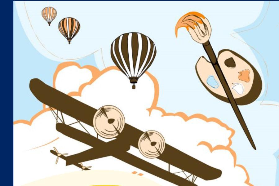 Aviation Art Contest Flyer
