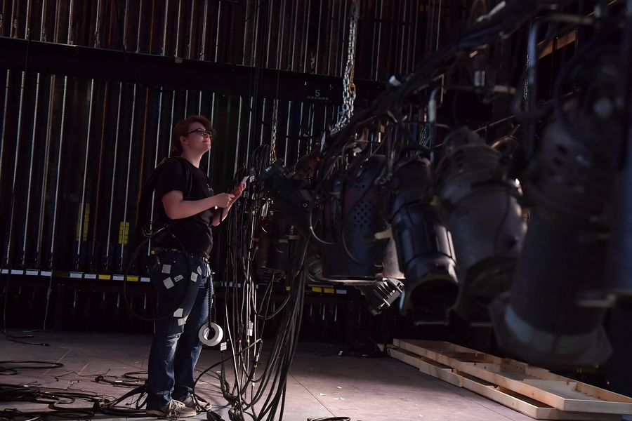 Lighting Design Student Works in Stump Theatre