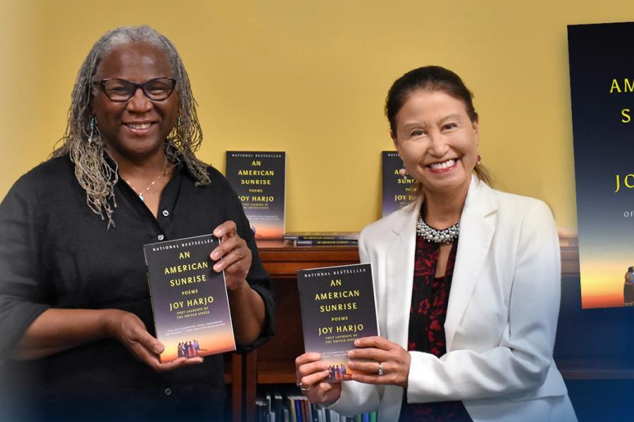 NEA Big Read Northeast Ohio Celebrate Joy Harjo