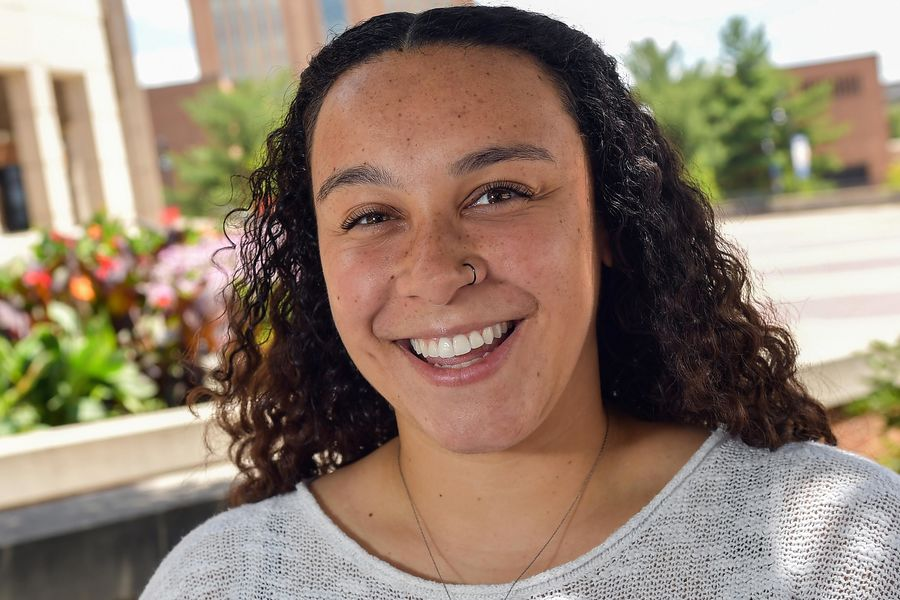 Celeste Dawson credits Kent State's EXCEL program for making the Kent Campus feel like a second home.