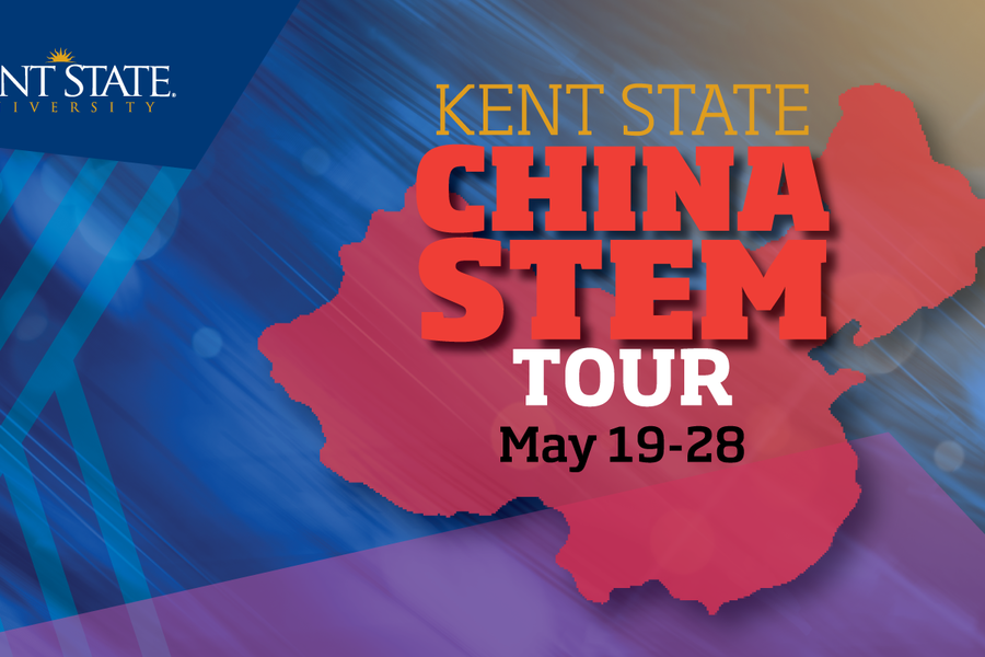 Kent State Kicks off the China STEM Tour on May 19-28.