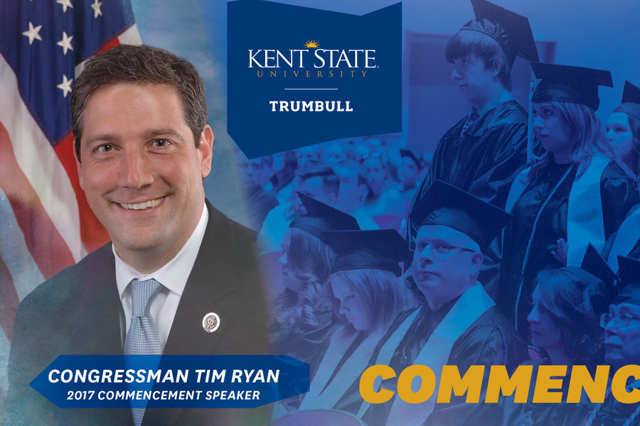 Congressman Tim Ryan Commencement Speaker
