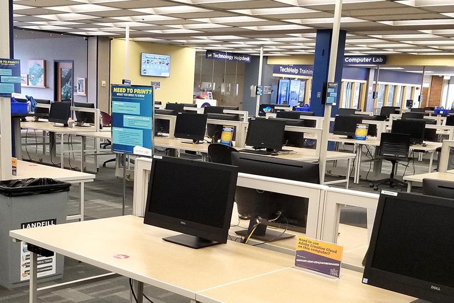 Kent Campus University Library Computer Lab