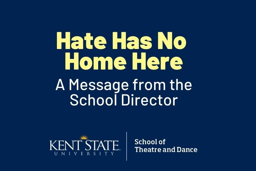 Hate has no home here: A message from the School director