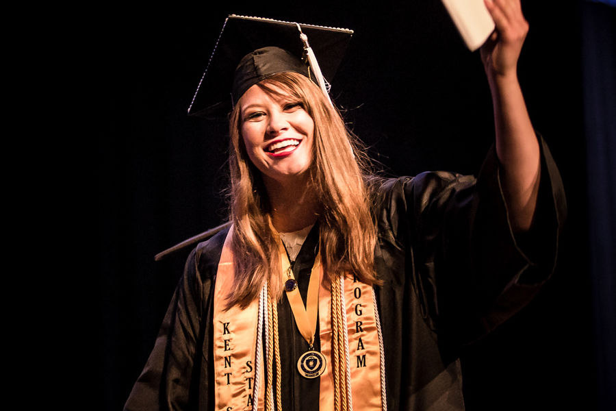 Demi Edwards, a Jackson Township resident, is set to teach in China after graduation.
