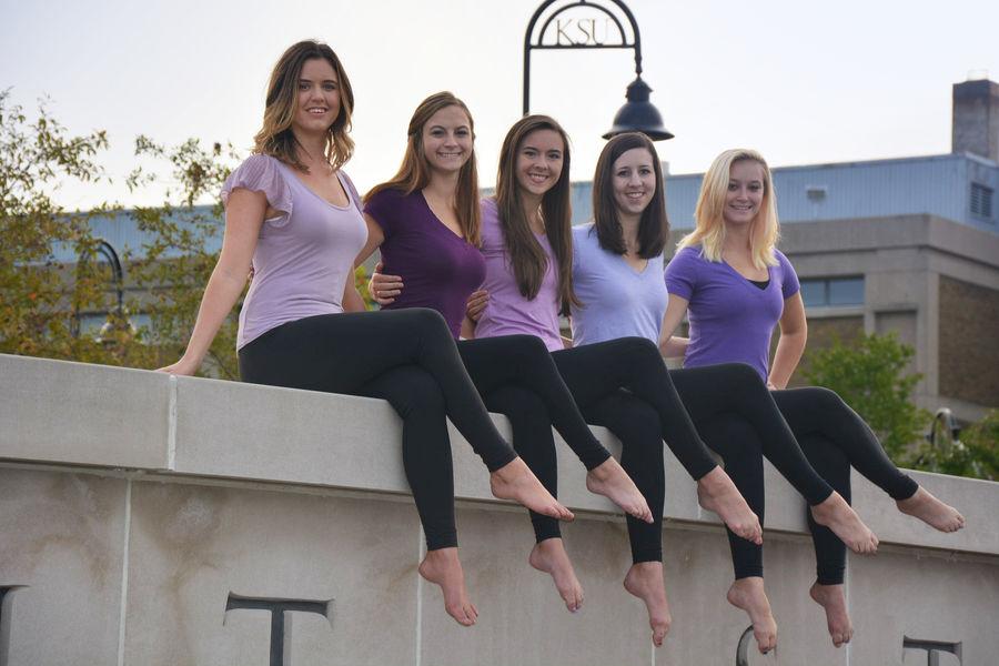 BFA Dance Candidates pose on Kent Campus