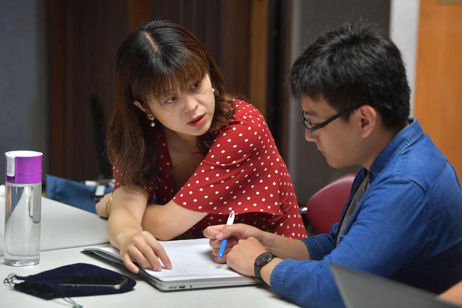 Yuxiang Wei and (Daisy) Xia Xiang assess the complexity of translator