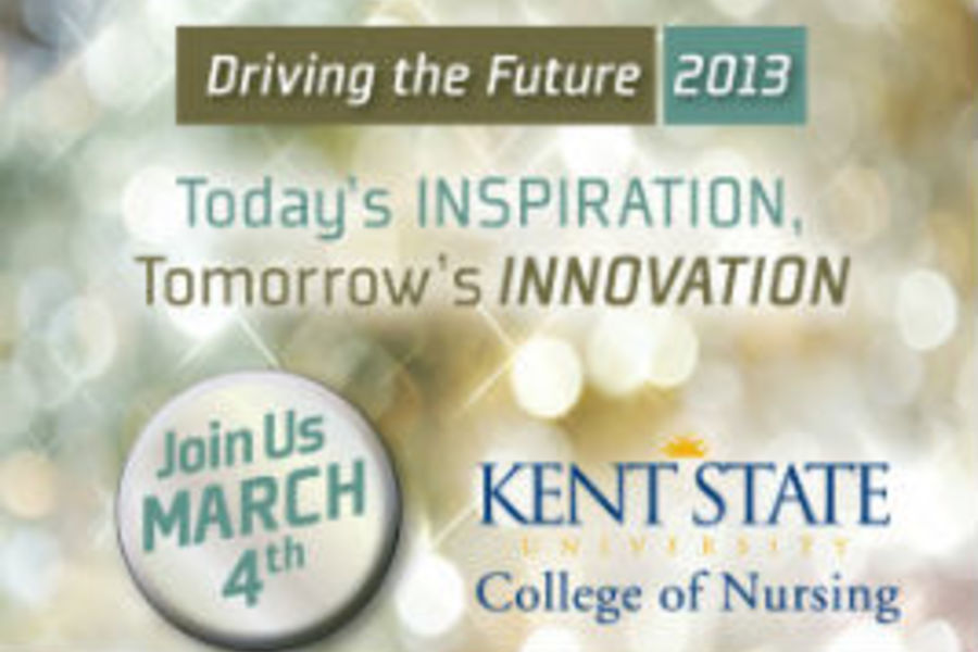 Promotional graphic for Driving the Future 2013