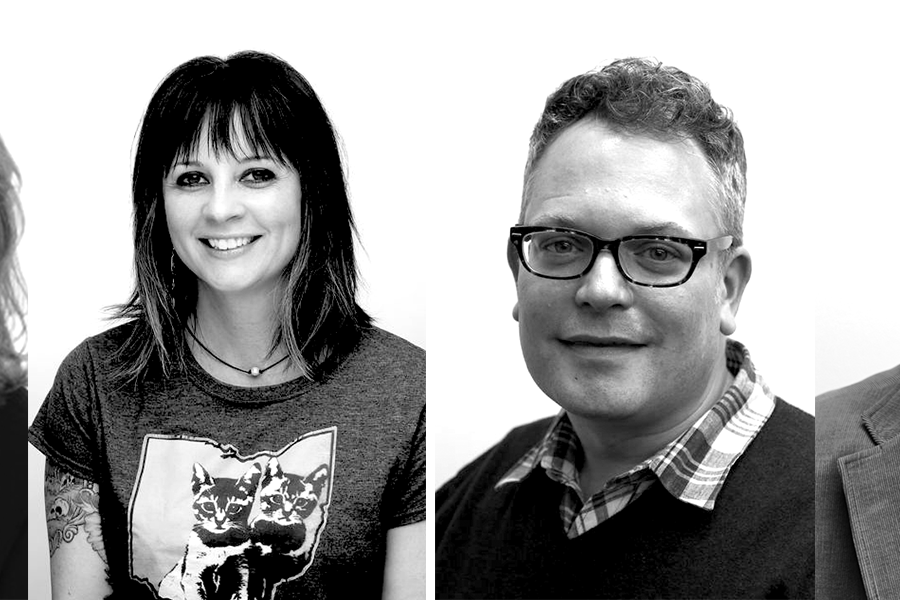 Four School of Communication Studies faculty members were honored with a Faculty Recognition Award at the University Teaching Council Conference.