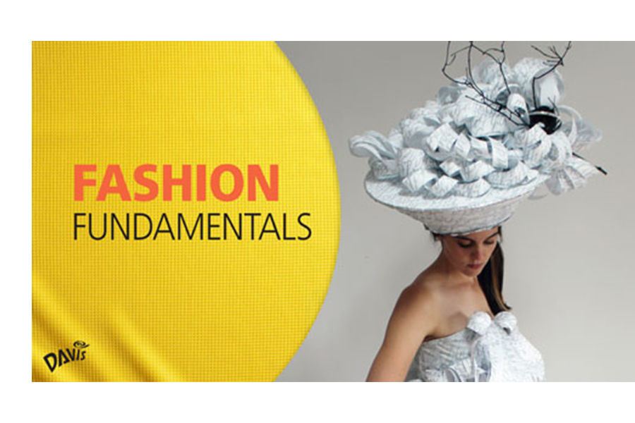 Fashion Fundamentals book cover and a photo of Robin Vande Zande