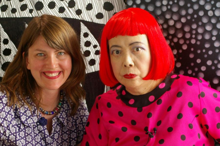 Heather & Kusama Copyright Tokyo Lee Productions, Inc.