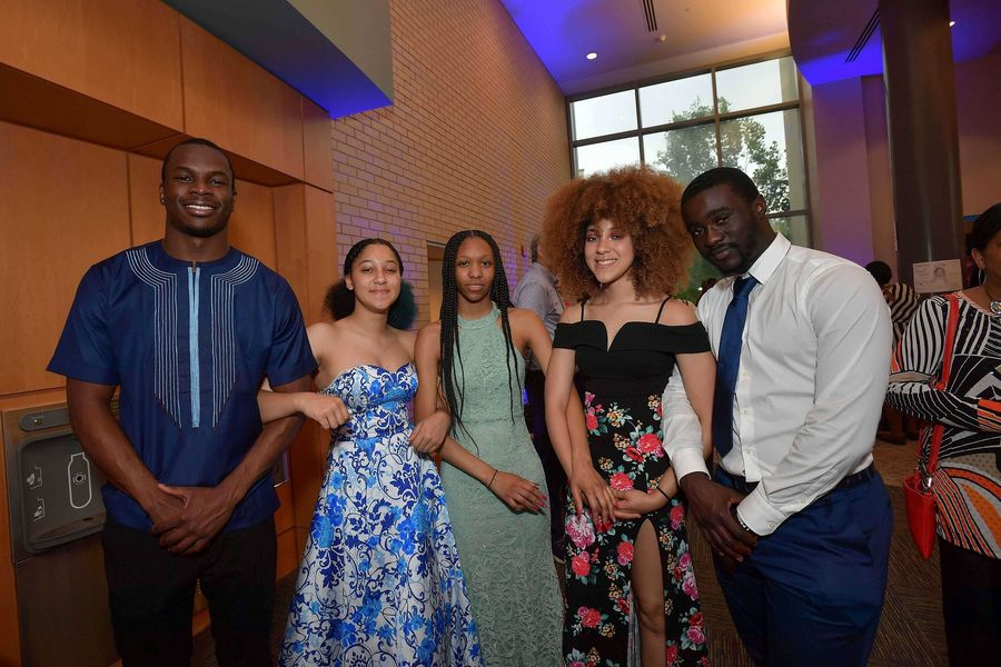 LeBron James Family Foundation I PROMISE students take part in an awards dinner marking the end of their four-week Kent State camp for intensive college entrance exam preparation.
