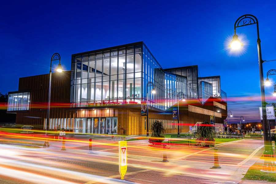 Completed in 2016, the John Elliot Center for Architecture and Environmental Design was created by internationally renowned New York-based firm WEISS/MANFREDI.