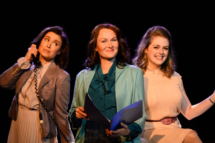Courtney Brown, Amy Fritsche, and Erin Diroll star in Porthouse