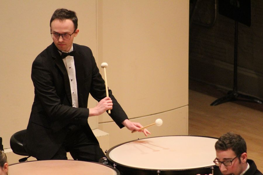 Jacob Ottmer, percussionist