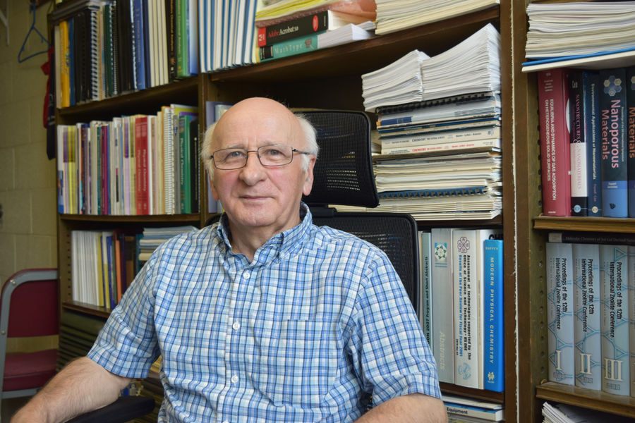 Mietek Jaroniec, Ph.D., Professor in the Department of Chemistry and Biochemistry was appointed to the editorial board of the journal Science Advances
