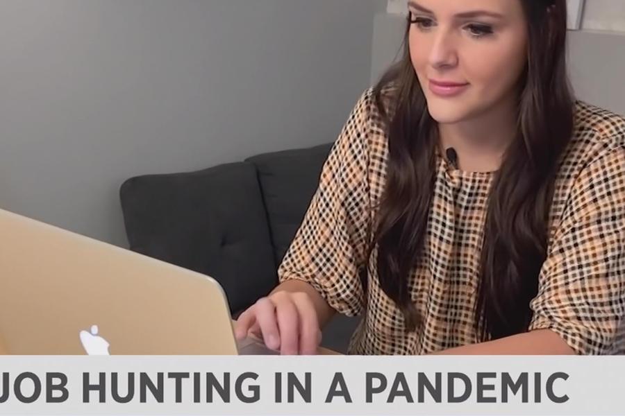 Screenshot of Spectrum News 1 Ohio Featuring Alumna Alyssa Mittereder