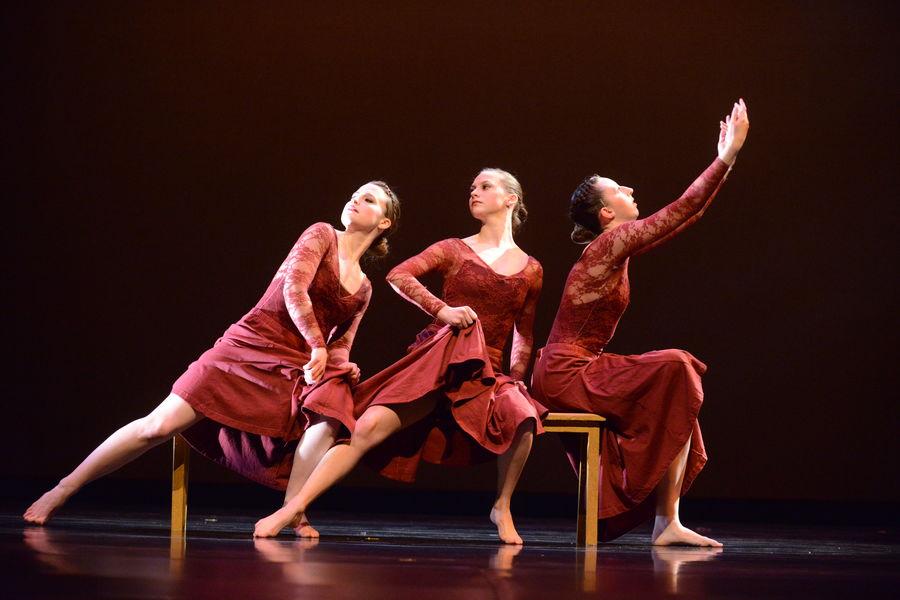 Three Sister Sonata, Kent Dance Ensemble 2014