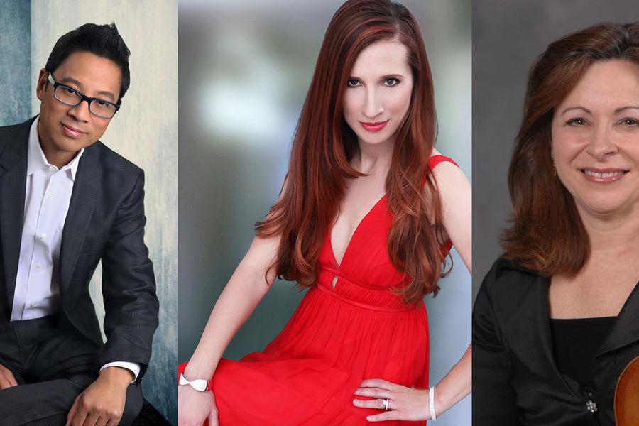 Jerry Wong, Melissa Davis, Cathy Meng Robinson