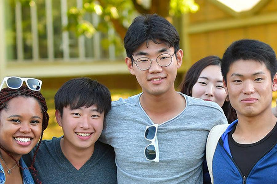 International Students on Kent Campus
