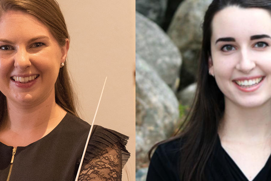 Karen Ní Bhroin and Victoria Petrak