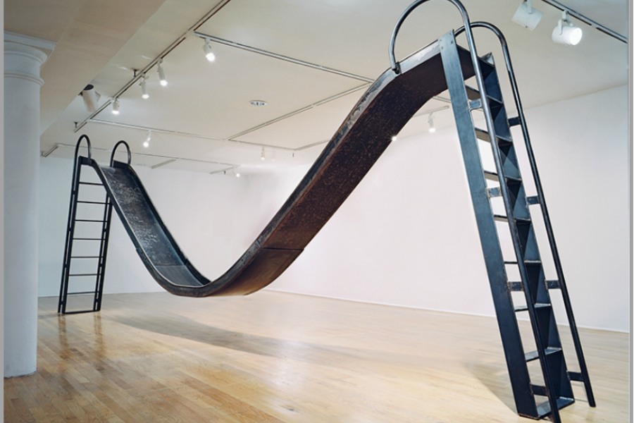 Karyn Olivier, Double Slide sculpture