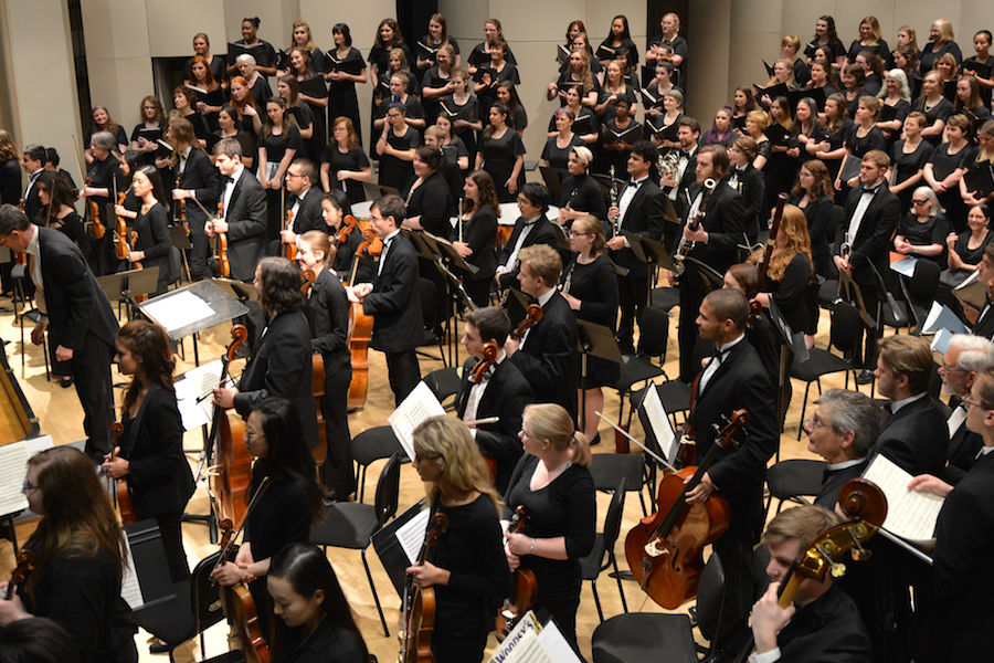 Kent State Orchestra and Combined Choirs