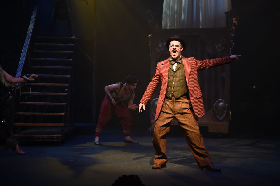 """MFA Acting Candidate Jim Bray performs in """"Side Show"""""""