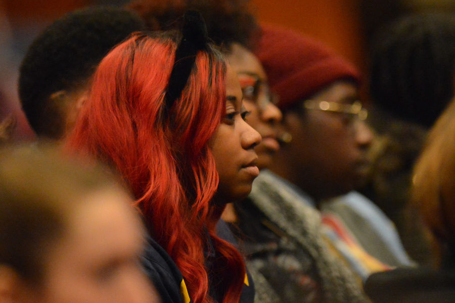Students attend last year's Martin Luther King Jr. Celebration in the Kent Student Center Ballroom.