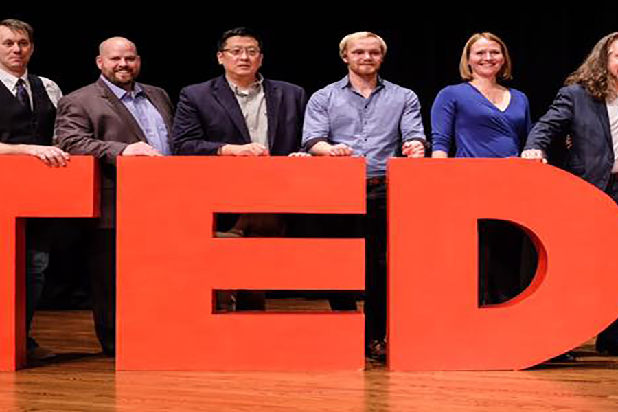 Six Conference Speakers Represent Each School and College at Inaugural University-wide Event