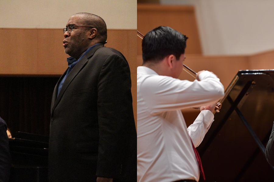 Owens and Brownlee, Chamber Music Society of Lincoln Center Masterclasses