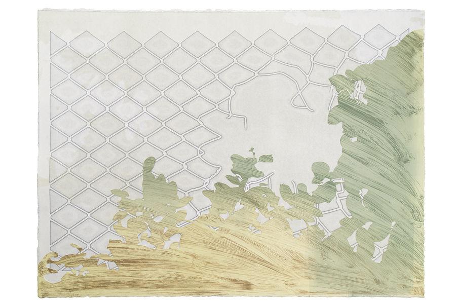 Taryn McMahon, Barricade and Border, 2017