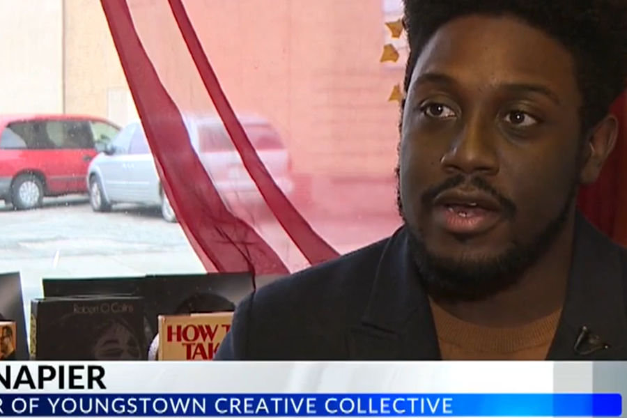 Joseph Napier Co-Founder of Youngstown Creative Collective