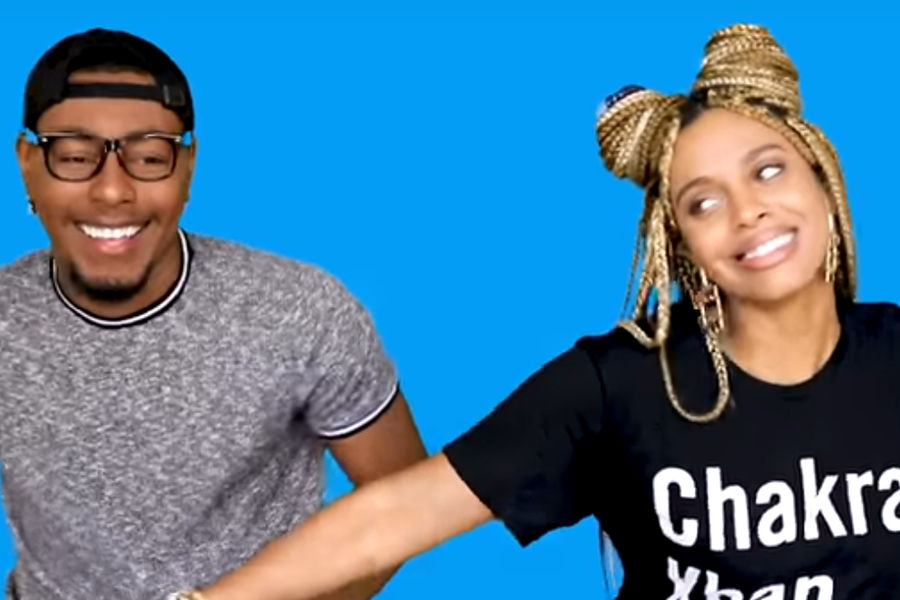 Kent State University alumna Jade Novah appears with YouTuber Terrell.