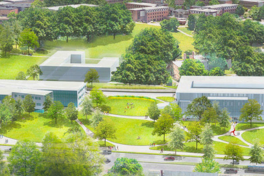 Read about master plan to transform kent campus to better serve students and university community.