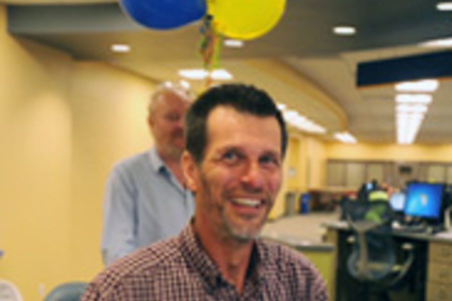 Kent State University math instructor Randy Ruchotzke has earned an Outstanding Teaching Award.