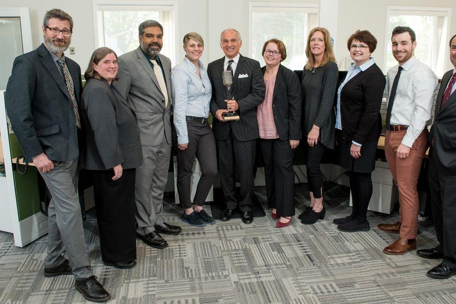 WKSU Newsroom staff