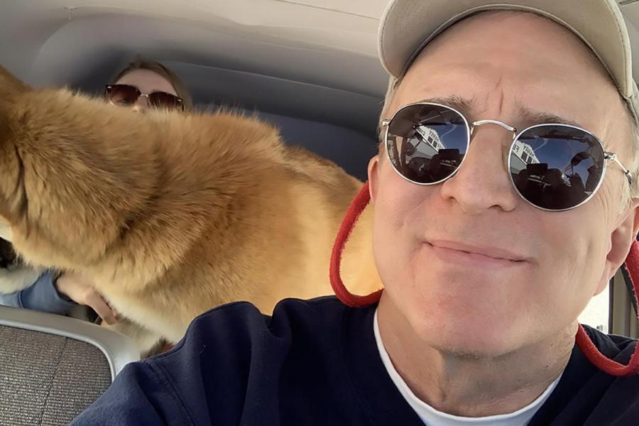 Associate Professor Joe Murray Donates His Time as a Pilot for Two Charities