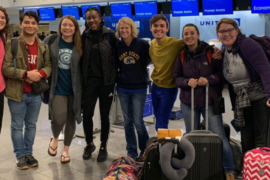 A group of Kent State resident assistants traveled to Australia in the first trip of the university