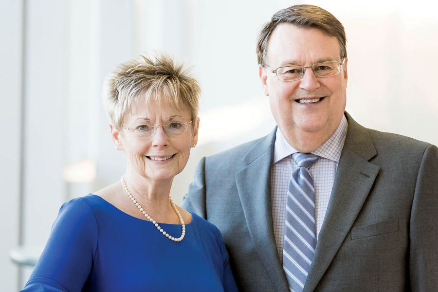 Mary and Tom Southards are paying it forward with a planned gift that will benefit first-generation college students at Kent State University.