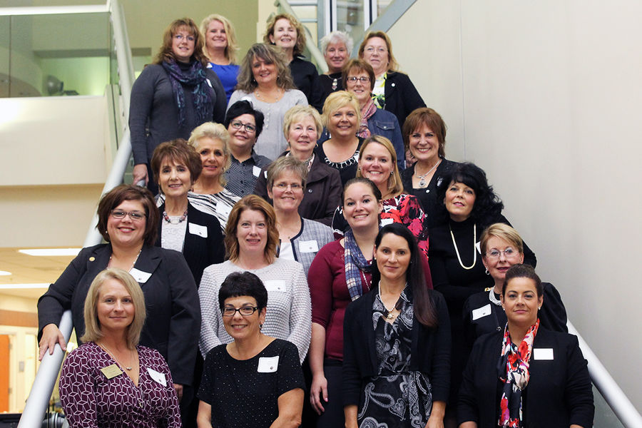Alumni gathered to celebrates 50 years of excellence in nursing at Kent State University at Ashtabula.